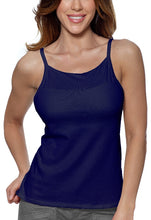 Load image into Gallery viewer, Alessandra B Underwire Bra High Neck Cotton Camisole -M3036