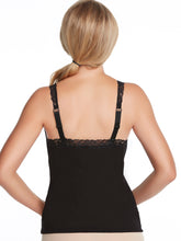 Load image into Gallery viewer, Alessandra B Lace Trim Sport Tank Top with Underwire Bra