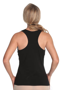 Alessandra B Yoga Underwire Racer Back Tank with Smooth Seamless Cups