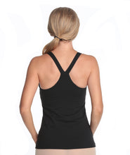 Load image into Gallery viewer, Alessandra B Yoga Underwire V Strap Cotton Camisole With Smooth Seamless Cups - M6089