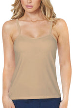 Load image into Gallery viewer, Alessandra B Underwire Smooth Seamless Cup Classic Camisole