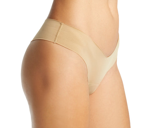 Alessandra B Camel Toe Cover Thong - M7711