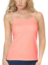 Load image into Gallery viewer, Alessandra B Underwire Smooth Seamless Cup High Neck Camisole - M7736