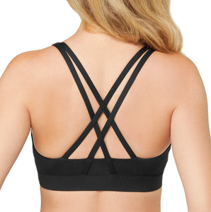 Alessandra B Wire-Free Molded Cup Sports Bra M8896