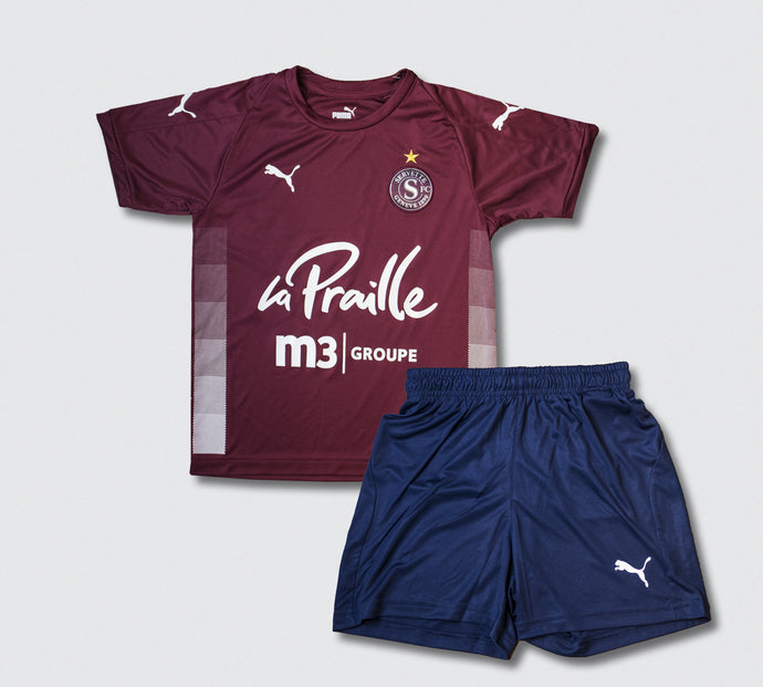 Kit enfant Home Servette FC 2020-2021