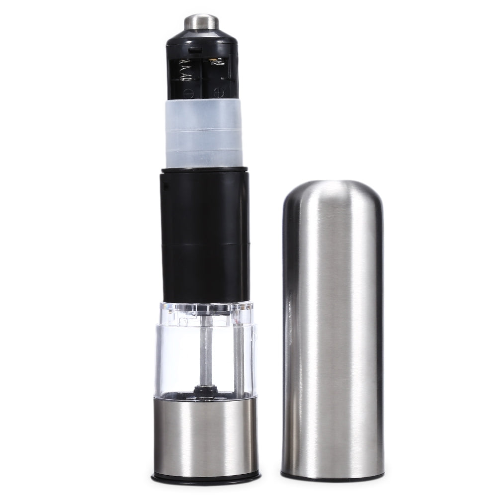 Electric Pepper Salt Grinder Stainless Steel