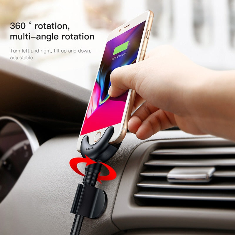 USB Car Phone Holder