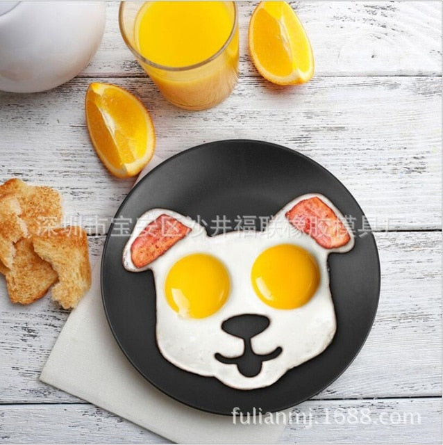 Silicone 3D Animal Egg Mold