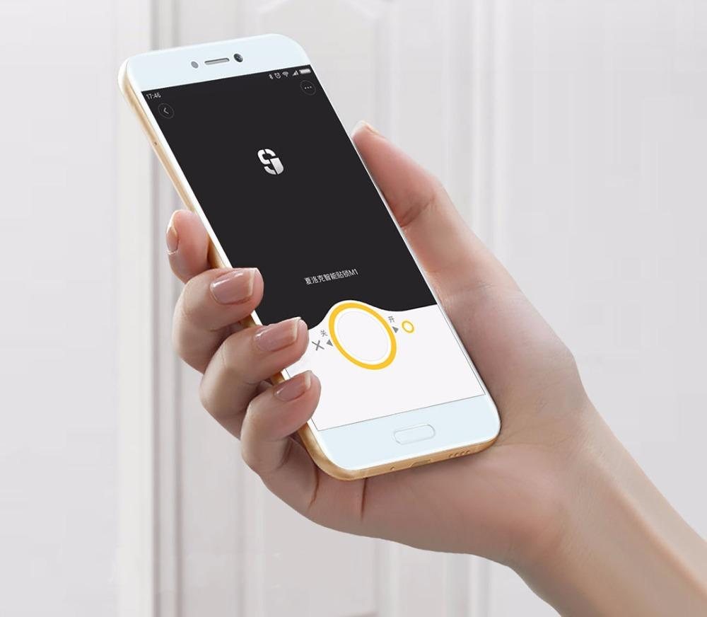 Xiaomi mijia M1 Smart door lock Keyless Fingerprint+Password Mi home app phone control