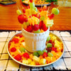 Creative Kitchen Pop Tools Plastic Vegetable Fruit Shape Cutter