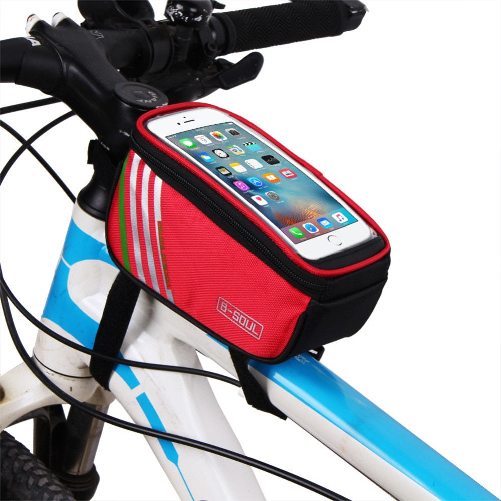 Bike Bag With Mobile Holder