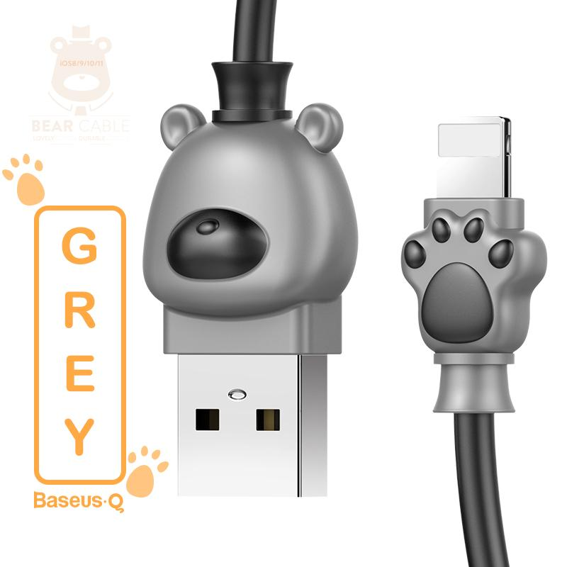 Cute Bear USB Cable For iPhone