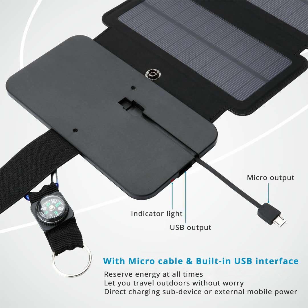 Portable Folding Solar Panels Mobile Charger