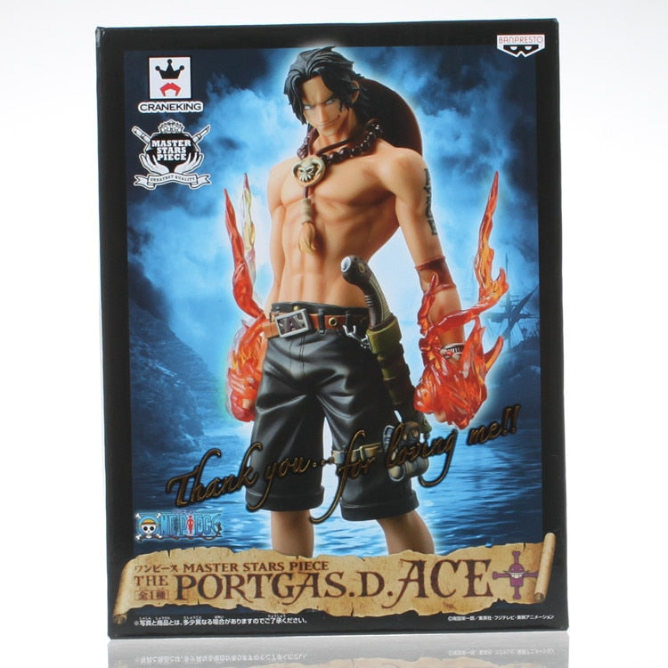 Anime One Piece Master Stars Piece MSP Portgas D Ace  26CM