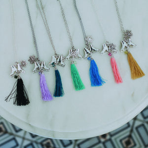 Delicate Tassel Necklace