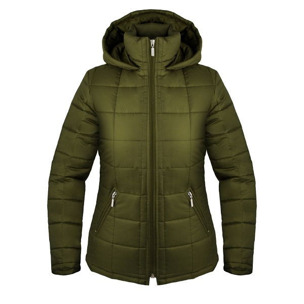 Green Winter Coat