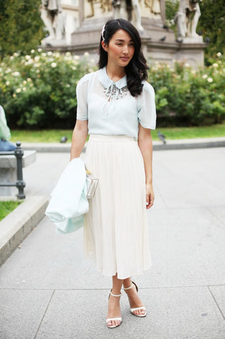 How to Wear Pastel Colors - Street Style Ideas (17)