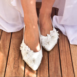 wedding shoes for bride, comfortable bridal shoes