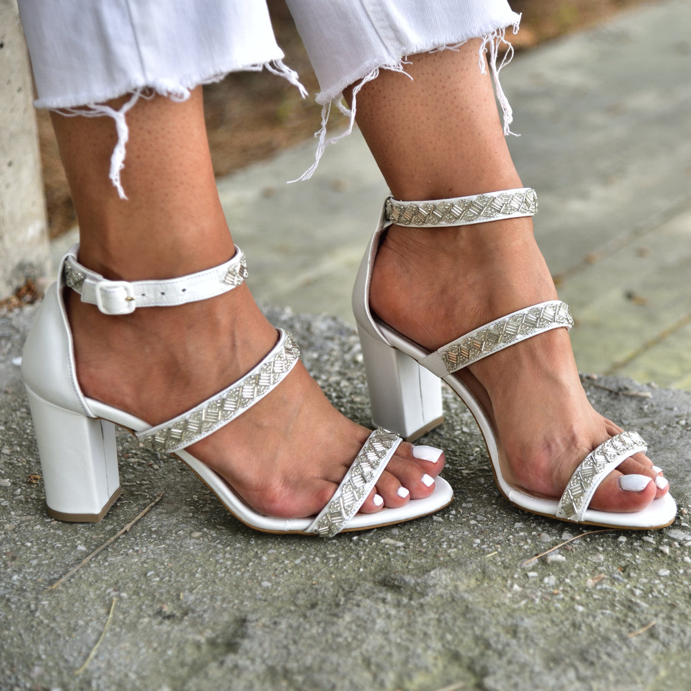wedding heels, wedding sandals for brides