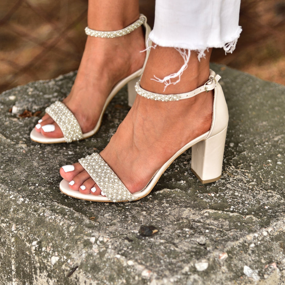 magosisters wedding sandals