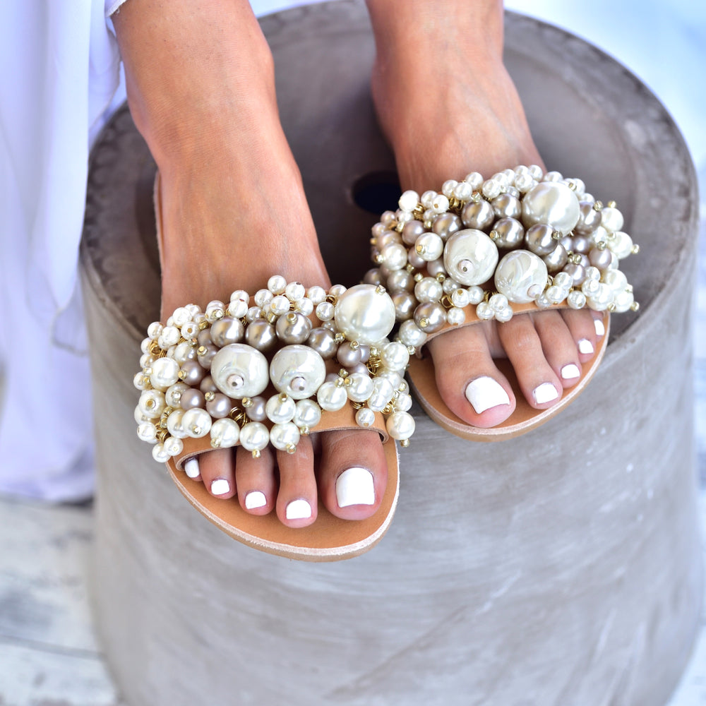 wedding sandals -  bridal sandals -  aurora sandals