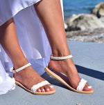 Wedding flat sandals Argiopi