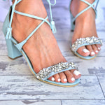 wedding heels blue, wedding sandals
