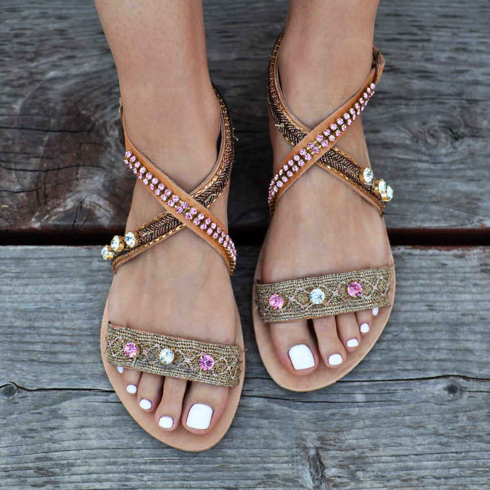 sandals made in greece, handmade greek sandals