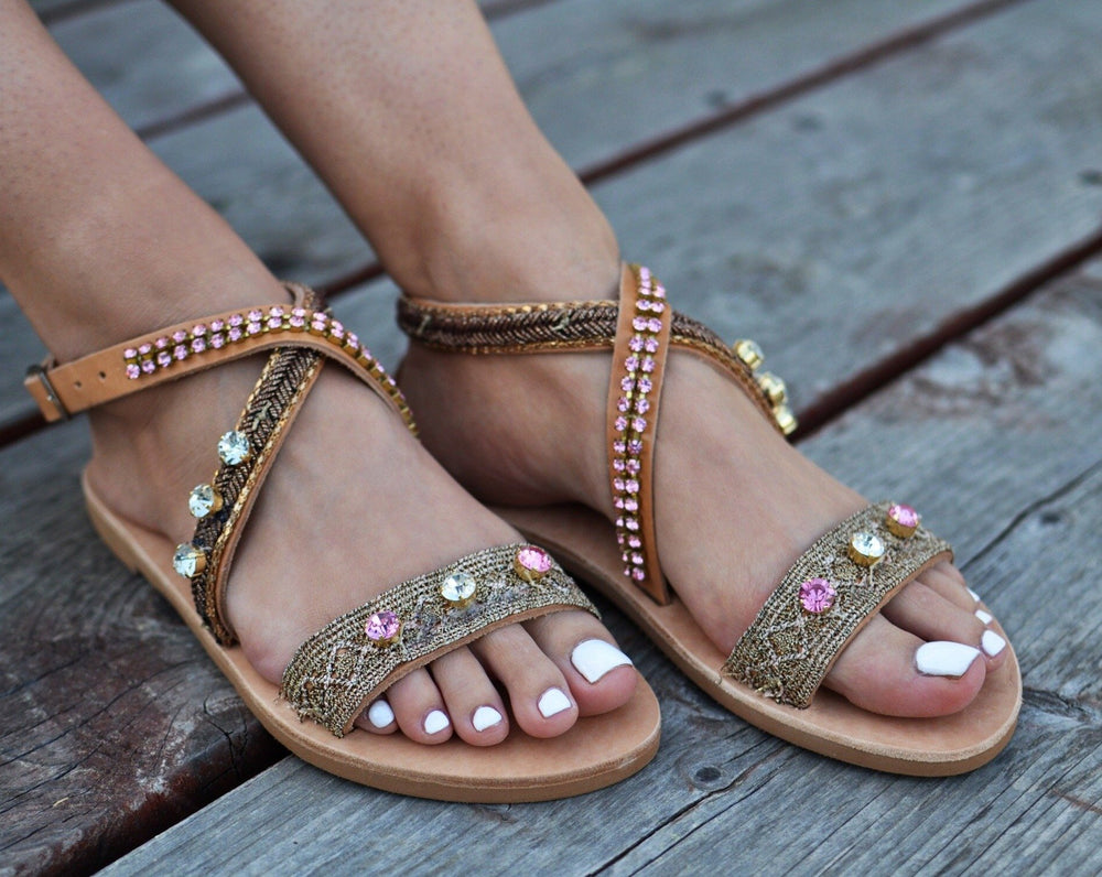 Aria sandals bohemian style