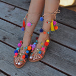 Bohemian Spirit - sandals made in Greece