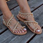 wedding sandals - wedding shoes - beach wedding