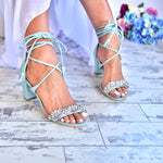 block heeled sandals, wedding sandals