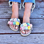 Cherry Blossom - sandals for women