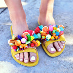 Colombiana sandals, bohemian sandals, boho leather sandals