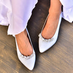 Blue Wedding Shoes, Bridal Flats