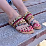 sandals for women, sandals made in greece, Bohemian sandals