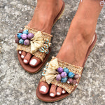 boho sandals made in Greece, bohemian sandals, sandals for women