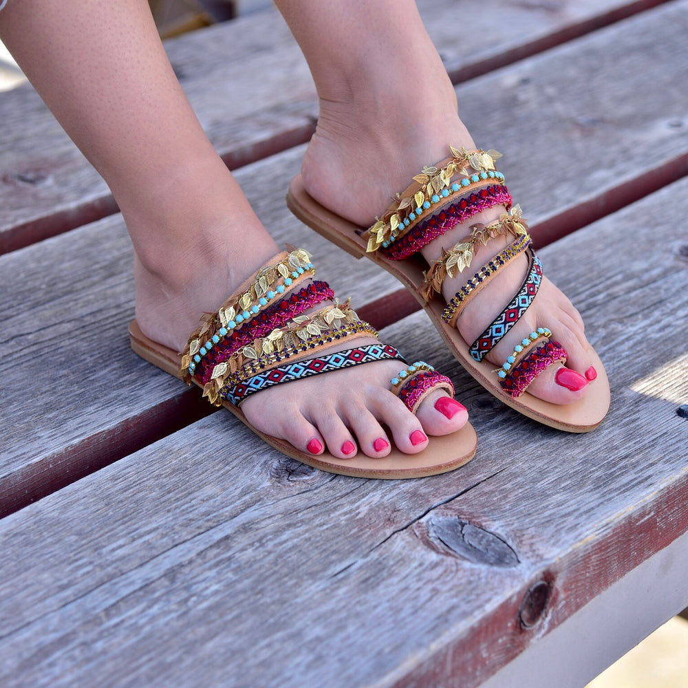 Handmade Bohemian sandals to shop in Athens