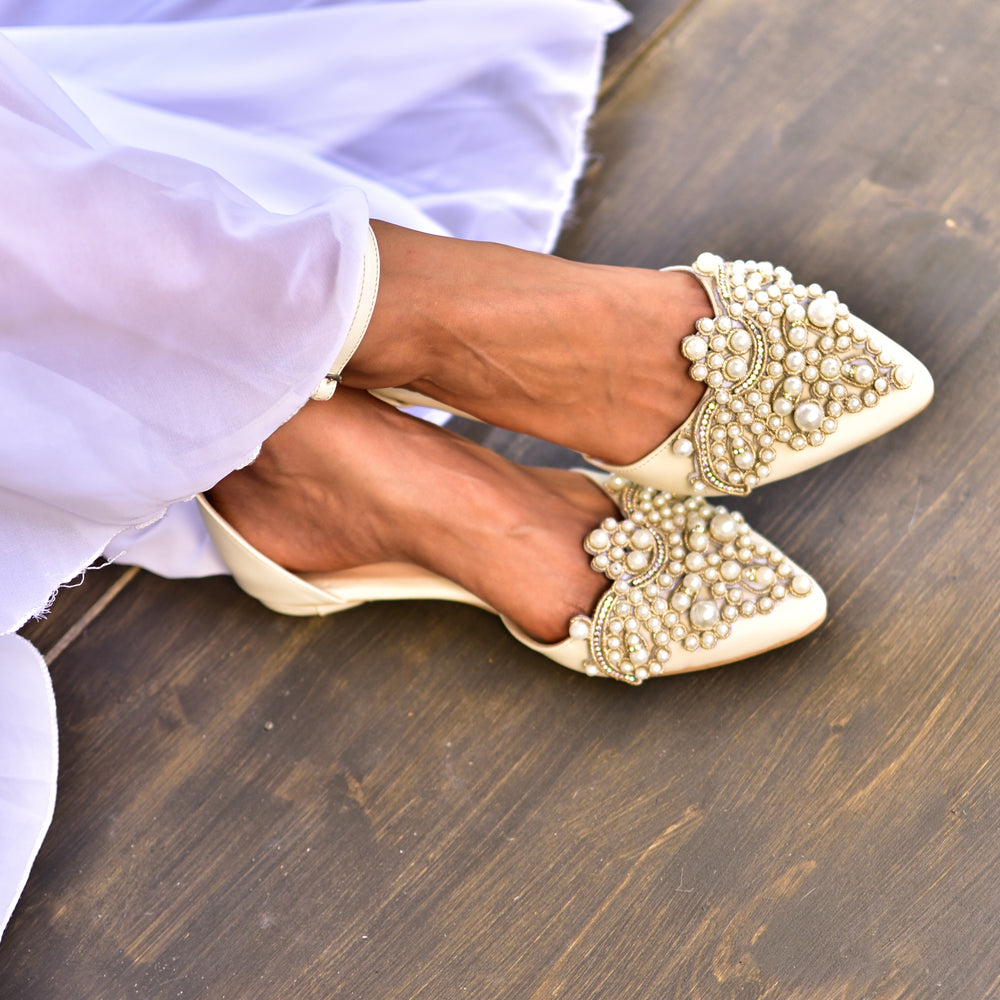 boho wedding shoes, wedding flats