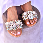 wedding shoes, bridal sandals, wedding leather shoes