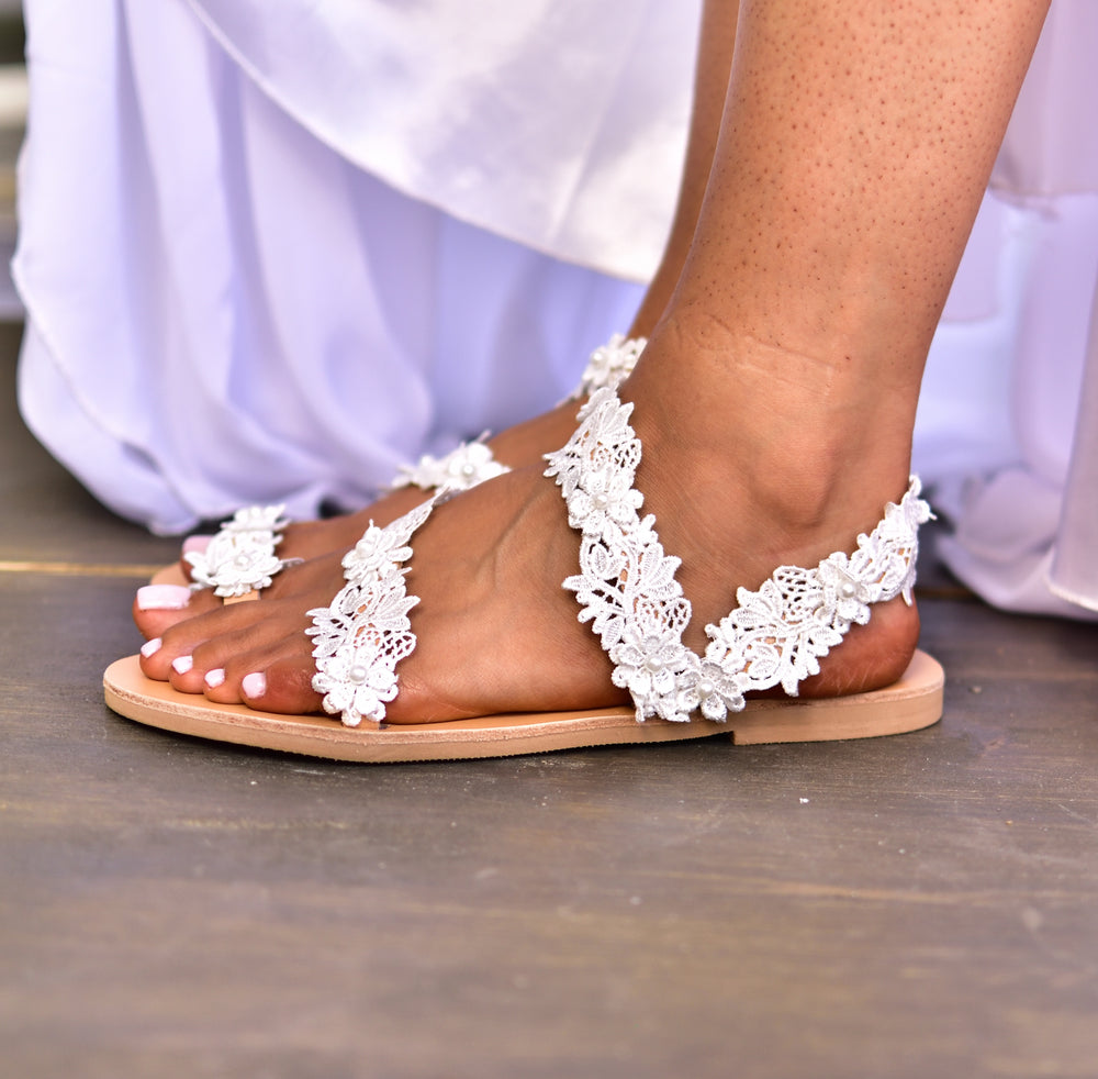 flat wedding shoes