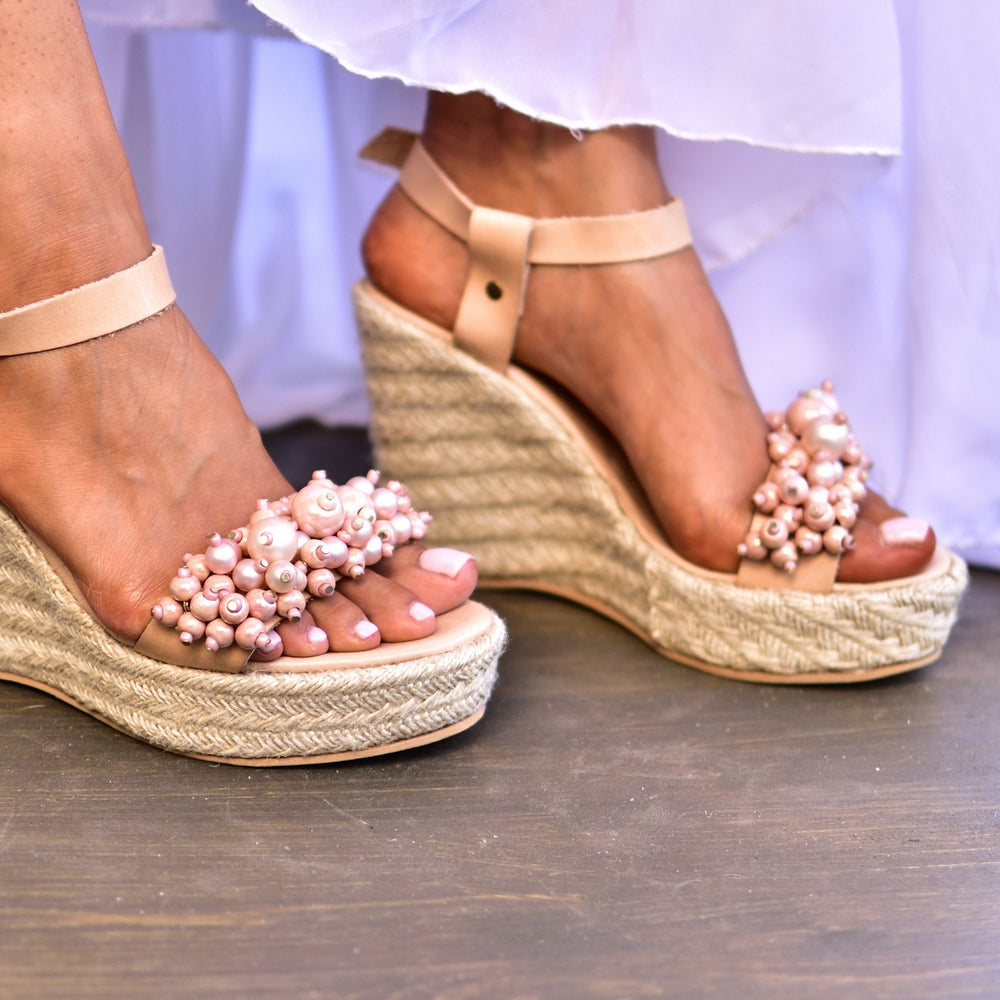 Bridal heels, wedding heeled sandals