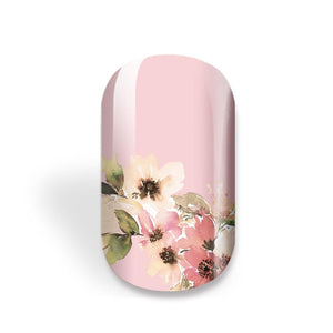 Rolling in Flower Fields (Pink)