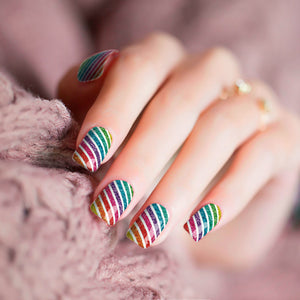 Rainbow Stripe Fun
