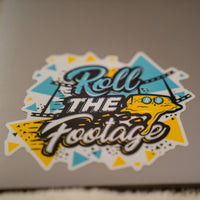 Roll The Footage Decal