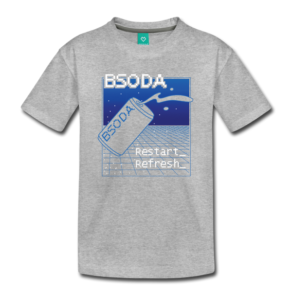 BSODA Youth T-Shirt - heather gray