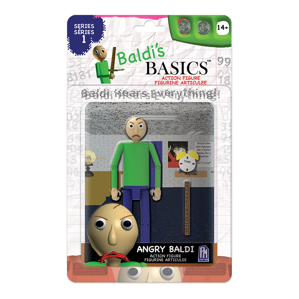 Baldi's Basics: Angry Baldi Action Figure