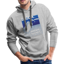 BSODA Mens Pullover Hoodie - heather gray