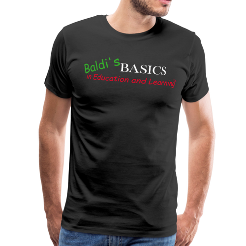 Baldi's Basics Logo T-Shirt (Mens) - black