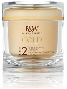 Fair and White 2: Even Tone Gold Exceptional Clarifying Cream 200ml - FairSkins.us